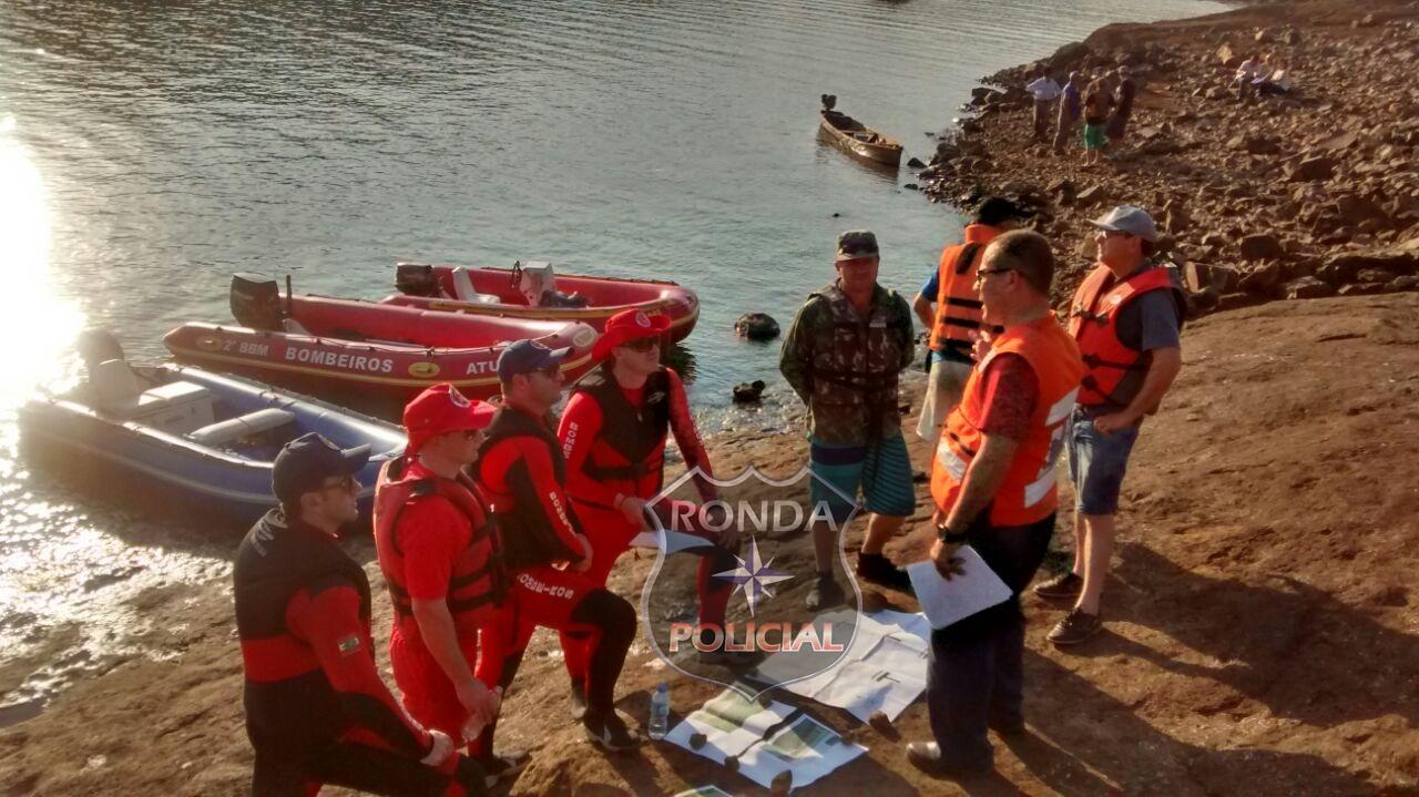 Mergulhadores de Xanxerê auxiliam nas buscas por corpos desaparecidos