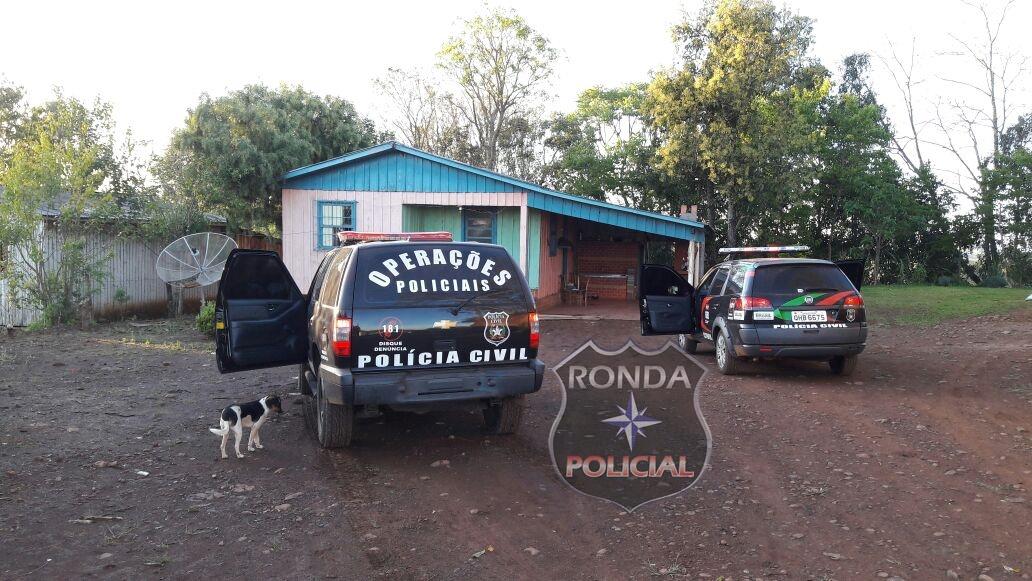 Operação da Polícia Civil apreende armas de fogo