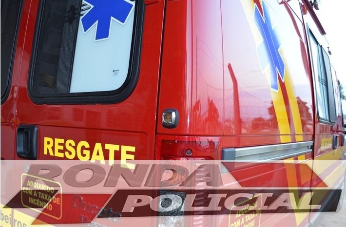 Cinco jovens ficam feridos em capotamento na SC-154