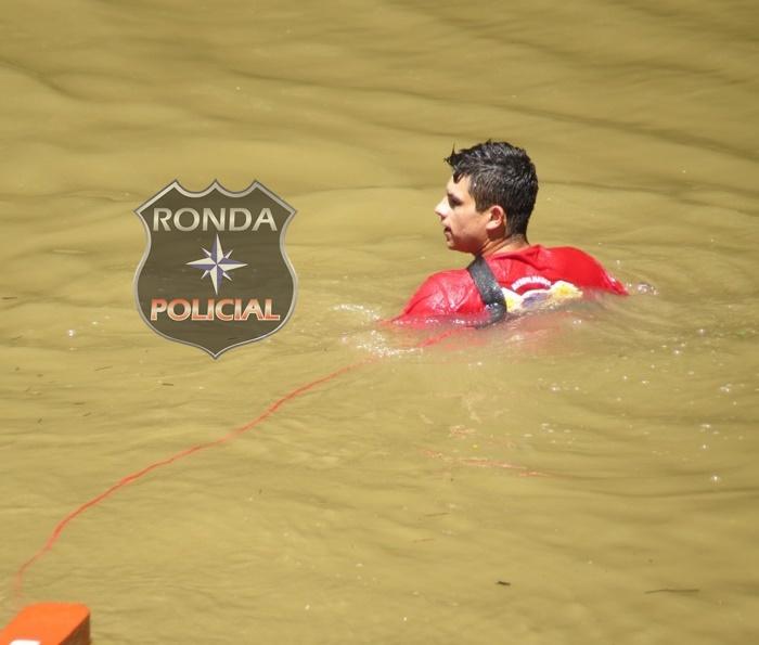 Adolescente morre afogado ao tentar realizar a travessia de rio
