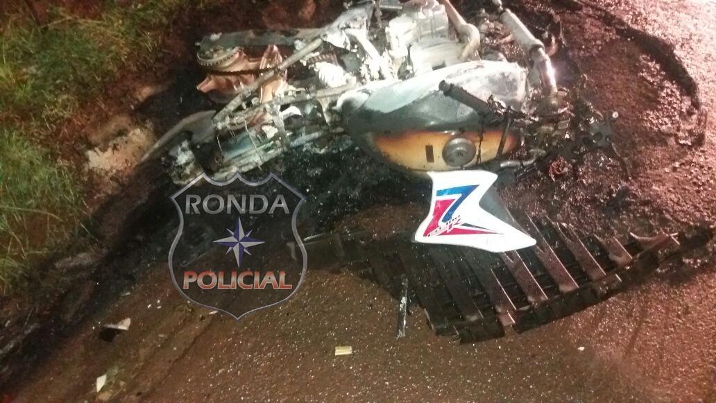Motociclista morre e três ficam feridos em acidente na BR-282