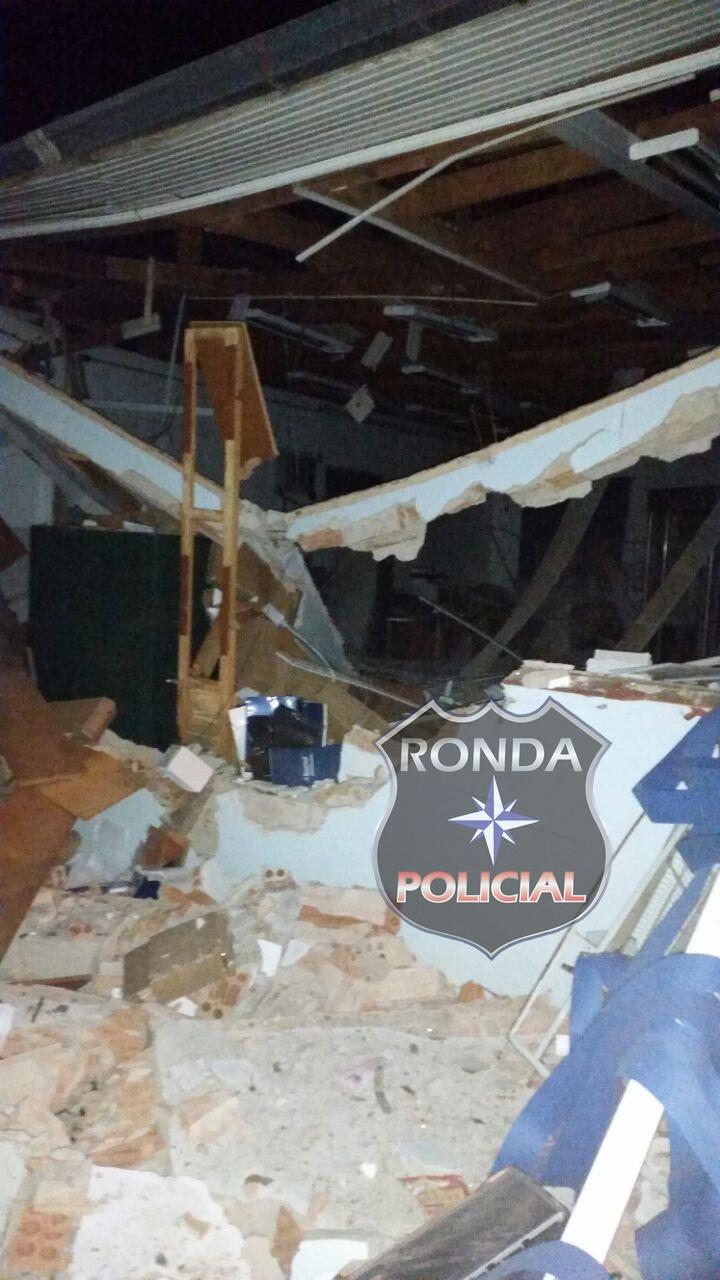 Tático de Xanxerê e SaerFron auxiliam nas buscas por criminosos que explodiram banco e mataram policial no RS