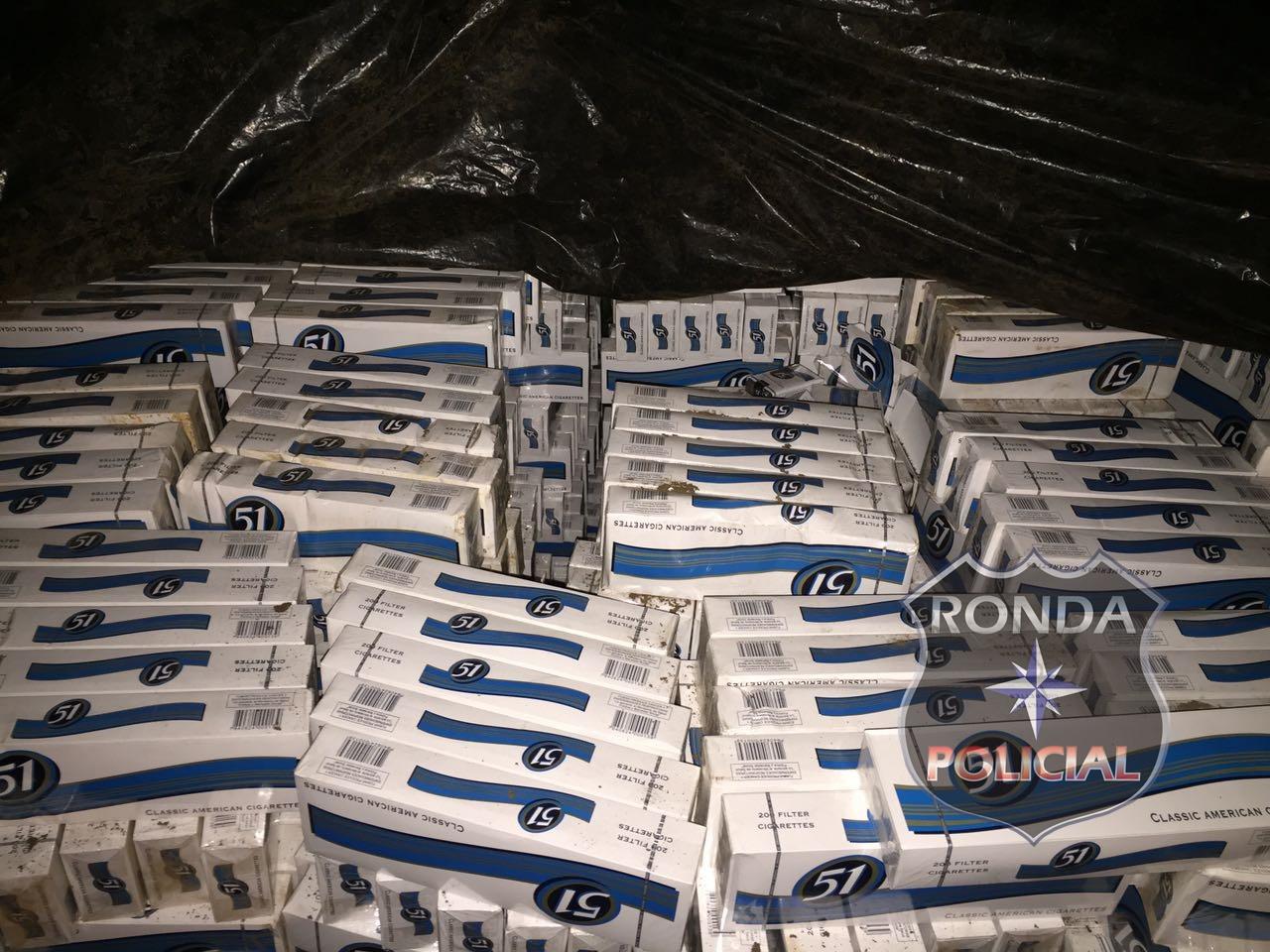 Polícia Civil estoura depósito de cigarro contrabandeado