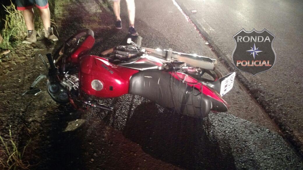 Motociclista tem perna amputada em grave acidente