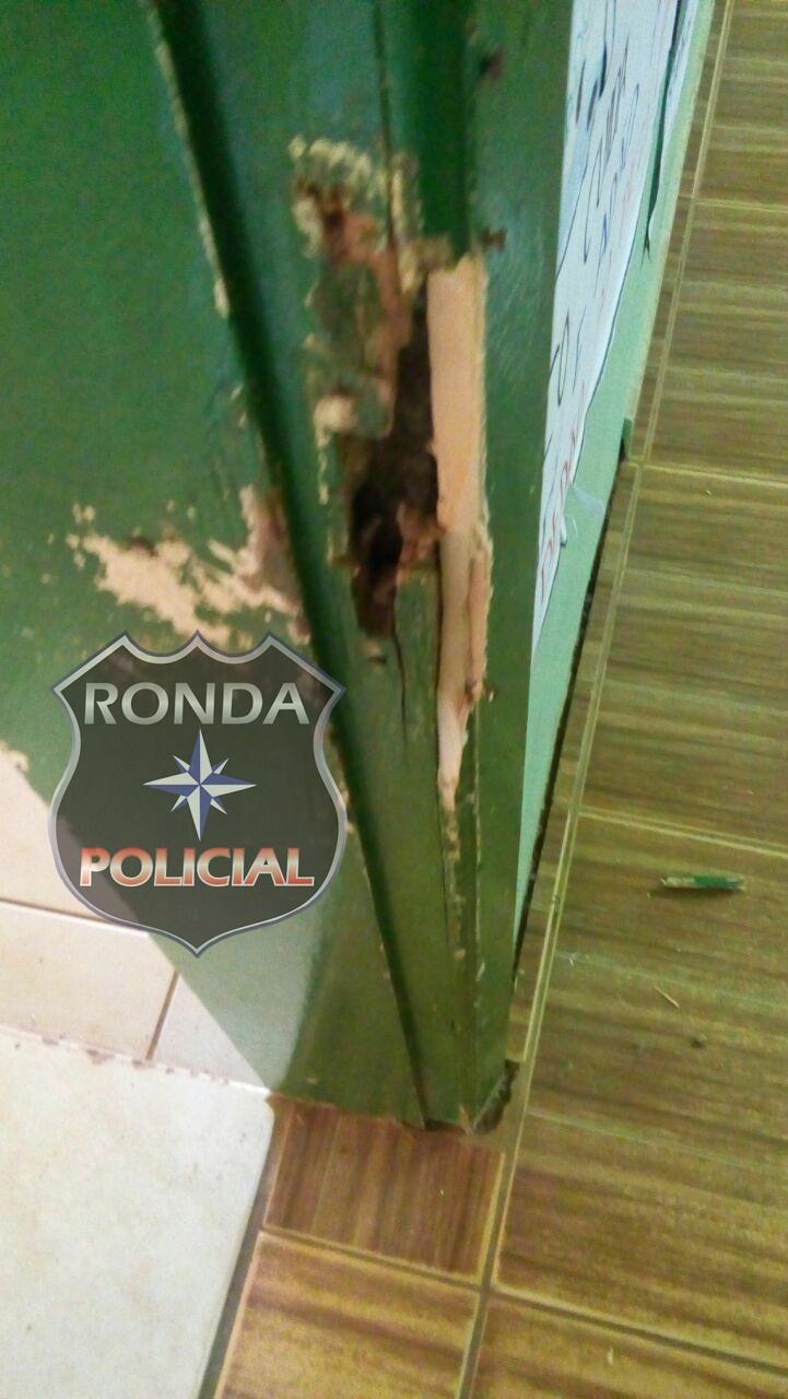 Cinco pessoas são presas em Xanxerê depois de arrombar e furtar escola de Entre Rios