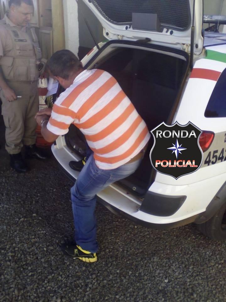 PM captura homem acusado por assassinato