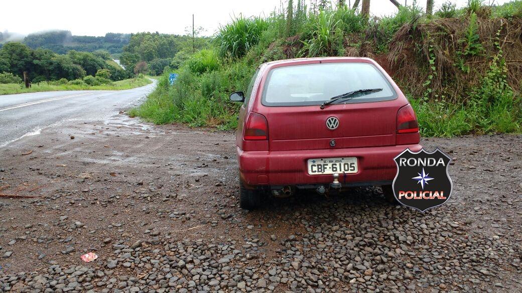 PM recupera veículo furtado na madrugada em Bom Jesus