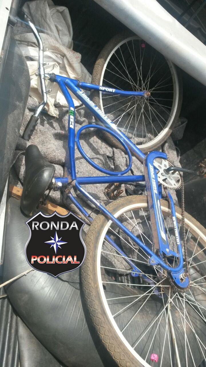 Dupla é presa por furto e receptação de bicicleta