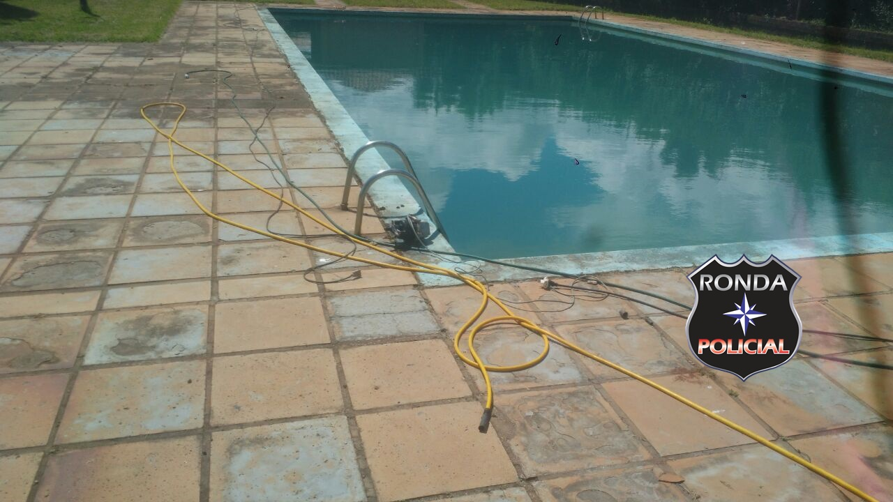 EXCLUSIVO – Homem morre ao levar choque durante limpeza de piscina