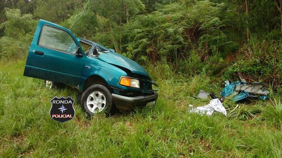 Homem morre em grave acidente na BR-282