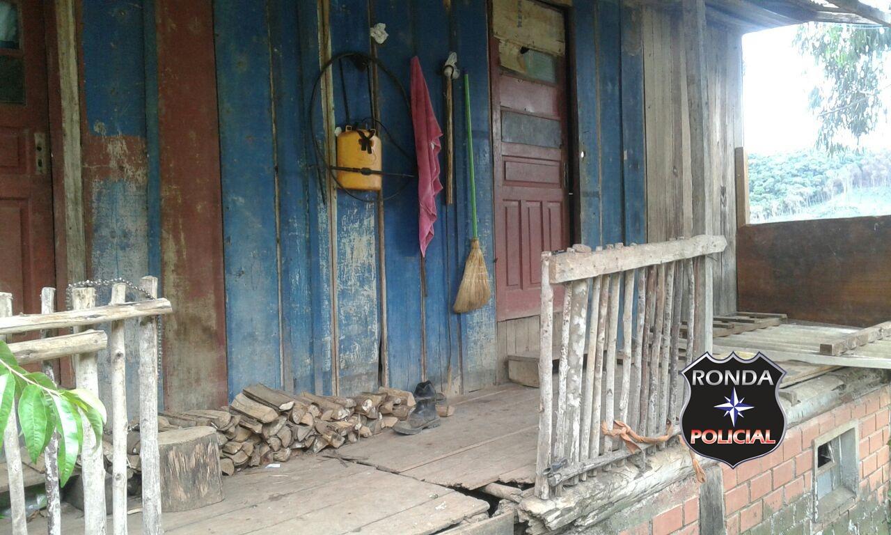 EXCLUSIVO – Homem é morto a golpes de foice no interior de Passos Maia