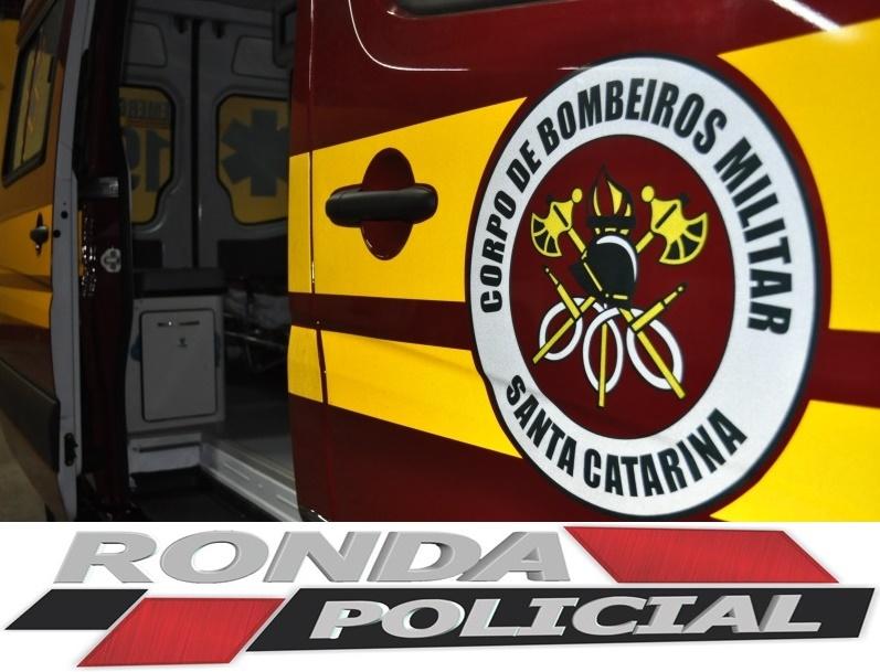 Três pessoas embriagadas são encaminhadas ao HRSP após acidente na SC-480