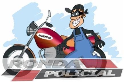 Motocicleta é furtada em propriedade rural