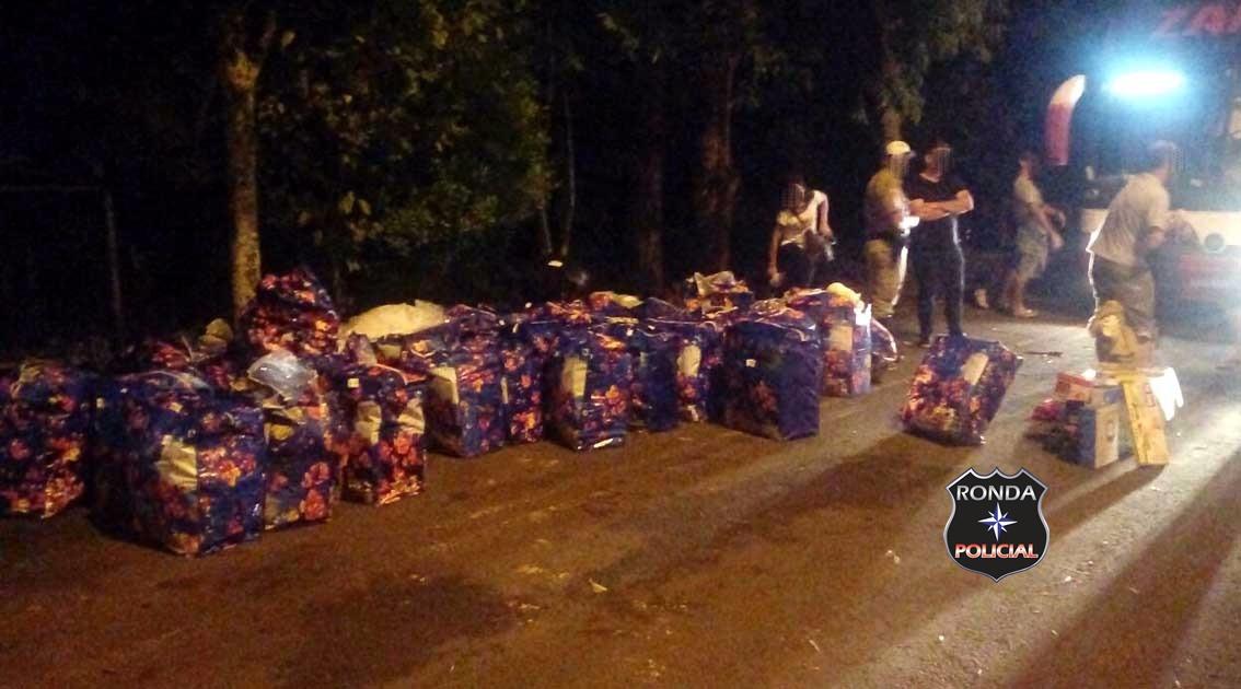 Polícia apreende mais de R$ 220 mil em contrabando