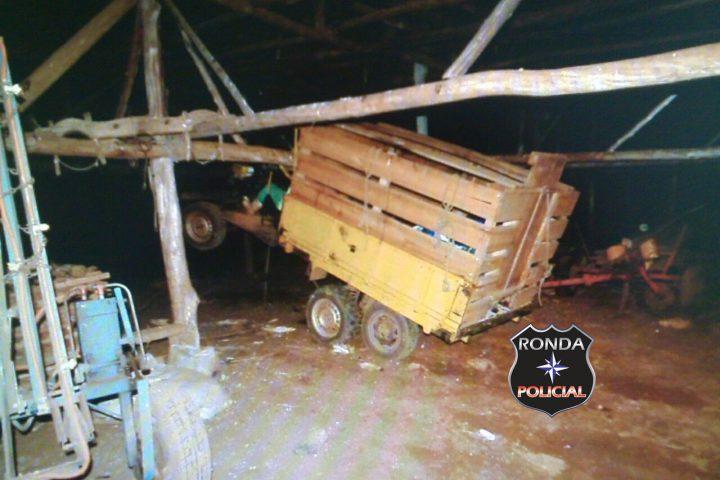 Jovem morre em acidente com carreta agrícola