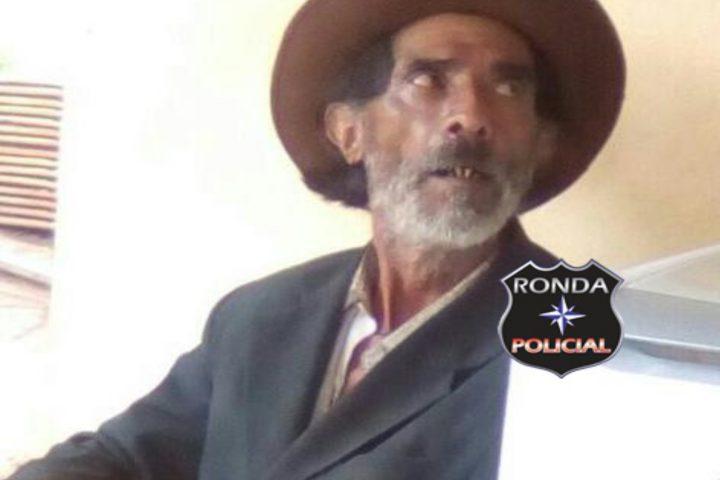Bombeiros realizam buscas por idoso desaparecido