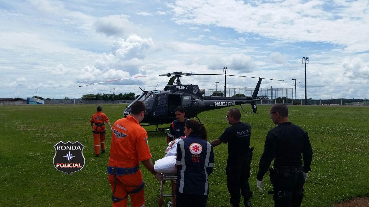 Policial Civil baleado é transferido para Chapecó