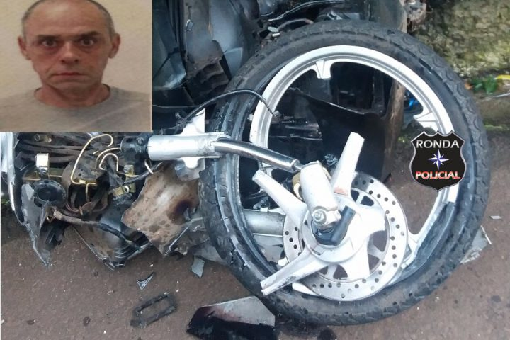 Motociclista morre ao colidir frontalmente com caminhão na 282
