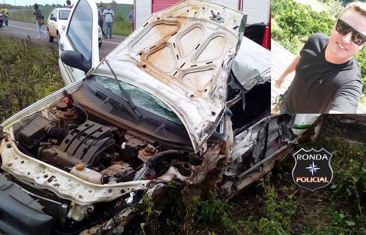 Jovem morre no hospital após grave acidente de trânsito