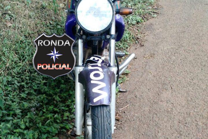 Motociclista fica ferido em acidente na 282