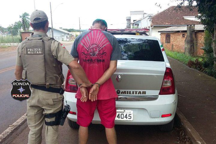 PM captura xanxerense condenado e foragido da justiça