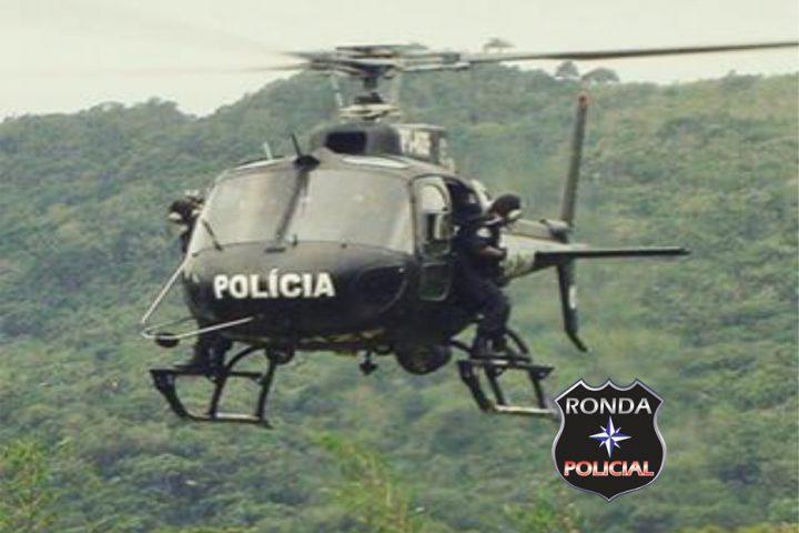 Ação conjunta é realizada entre Polícia Federal, PRF, PM e Saer