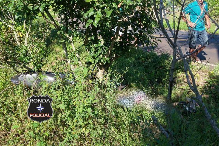Jovem morre em grave acidente de moto durante a madrugada