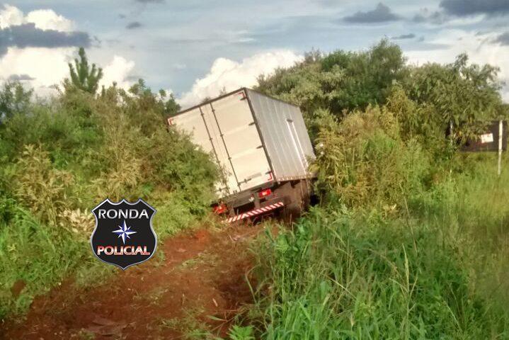 PM faz guarda de carga perecível durante a madrugada