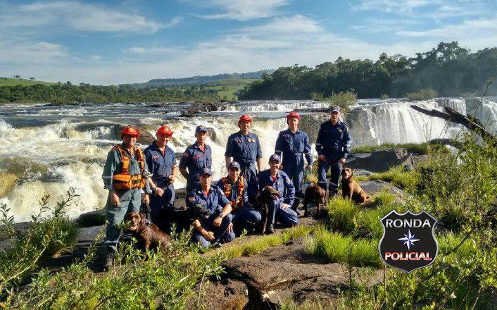 Bombeiros de Xanxerê participam de treinamento de busca e resgate em Quilombo