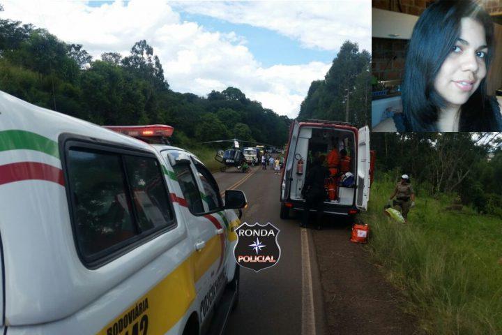Jovem de Xanxerê morre e outro fica gravemente ferido em acidente de moto na SC-155