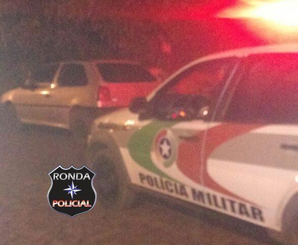 PM recupera veículo furtado em São Domingos