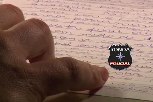 Delegado revela detalhes de carta deixada por adolescente que matou o próprio pai a machadada