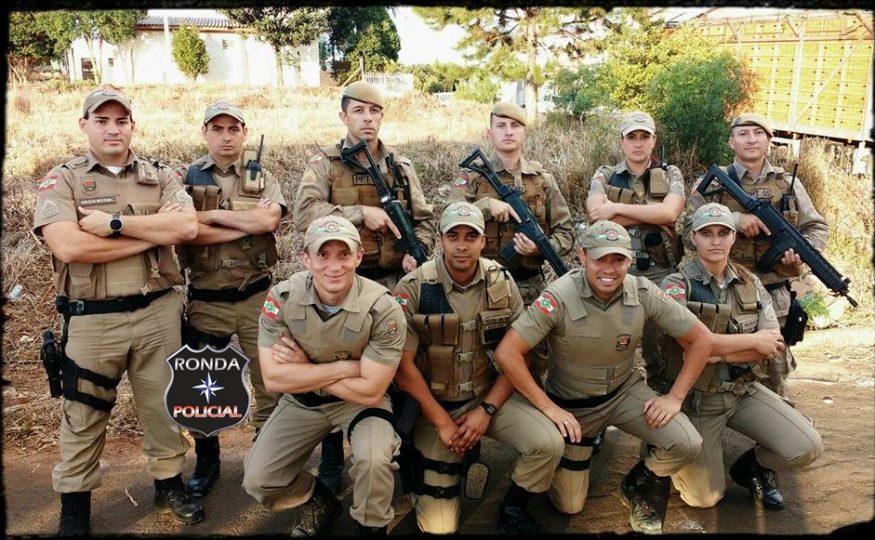Policiais do PPT ministram instruções de CQB para PMs de Xaxim