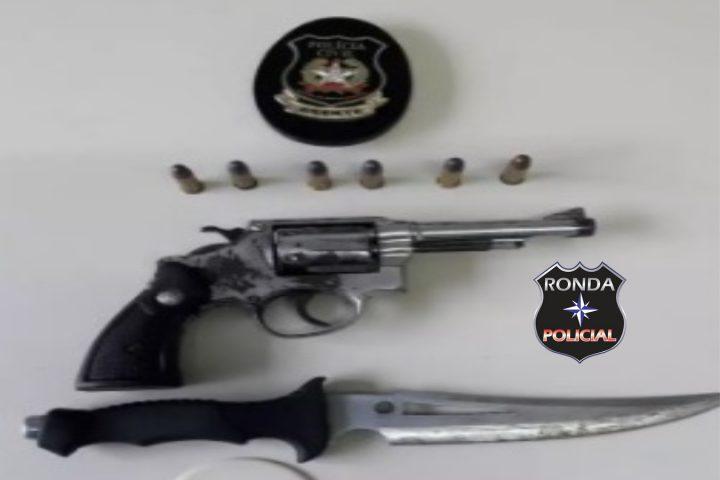 Polícia Civil captura foragido da justiça de posse de arma