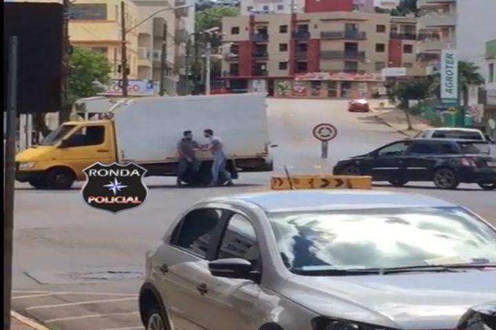 Motorista embriagado é preso depois de se envolver em briga de trânsito em Xanxerê