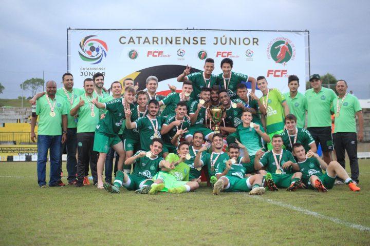 Sub-20 da Chape é Campeão Catarinense