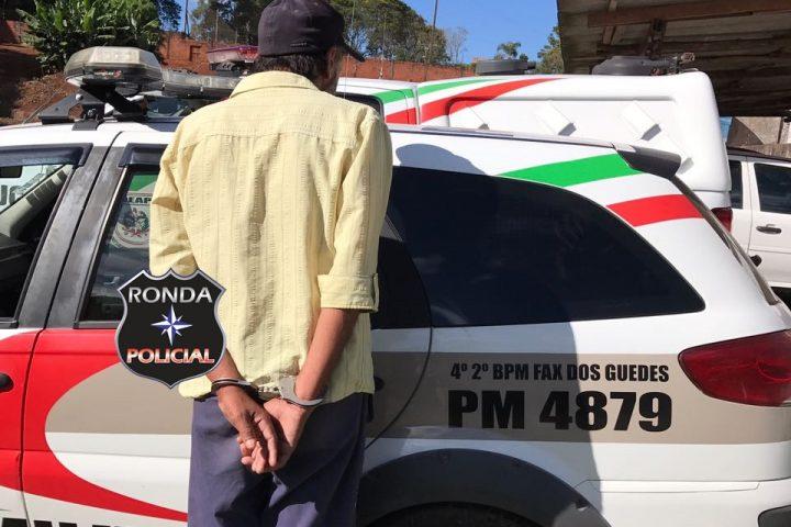 PM captura homem acusado de matar o próprio irmão