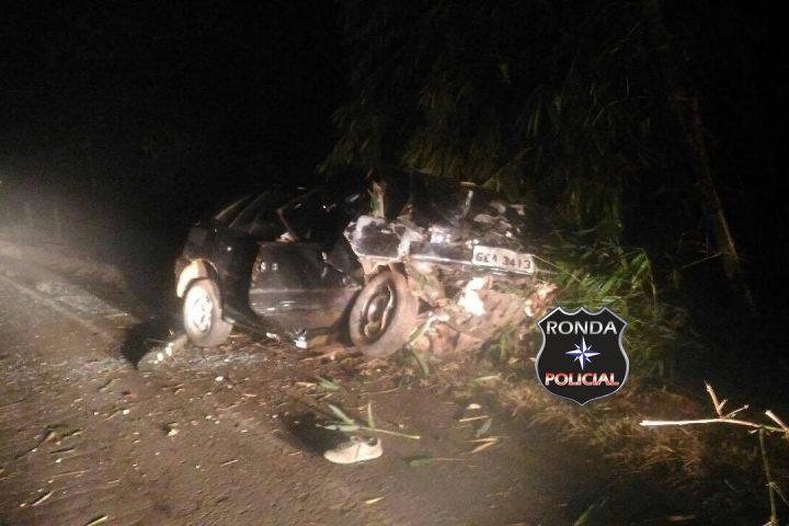 Jovem morre em grave acidente de trânsito na madrugada