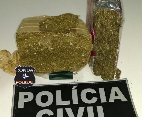 Polícia Civil apreende drogas durante cumprimento de mandado