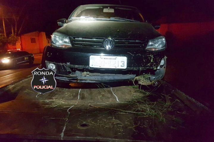 Idoso fica ferido em acidente na 282