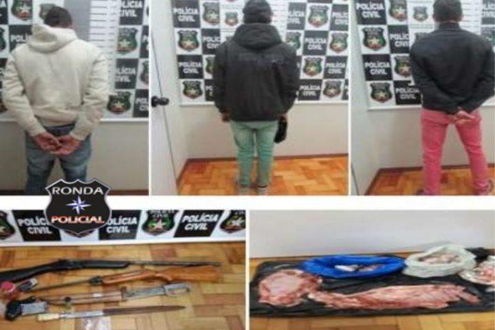 Autores de tentativa de latrocínio são presos pela polícia