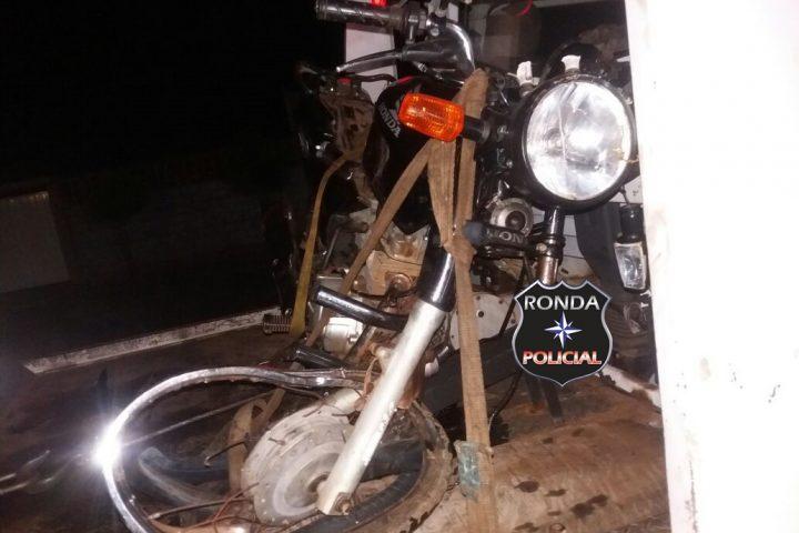 Motociclista tem perna amputada em grave acidente na 282