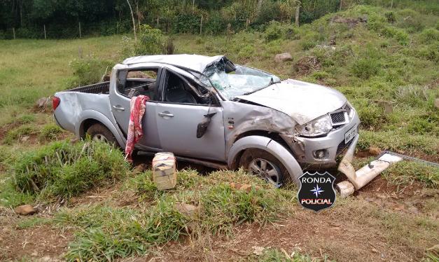 PM apreende mais de 140 kg de maconha em acidente no interior