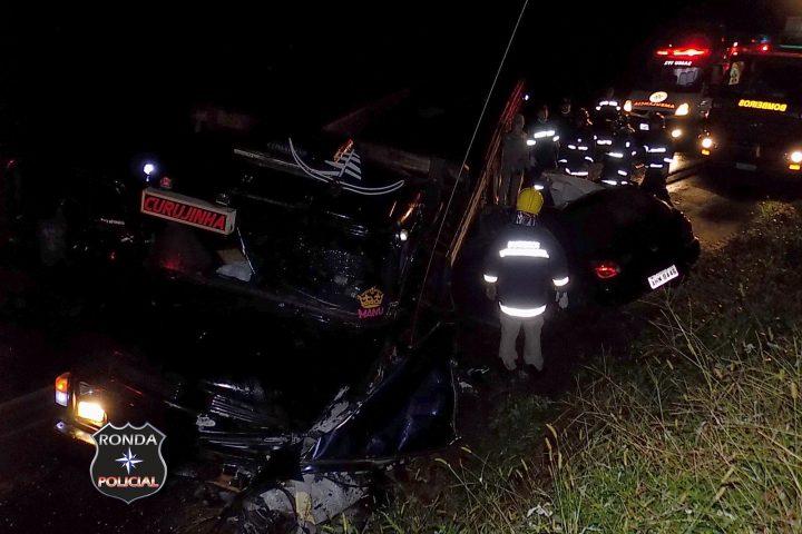 Caminhão do oeste se envolve em acidente fatal no PR