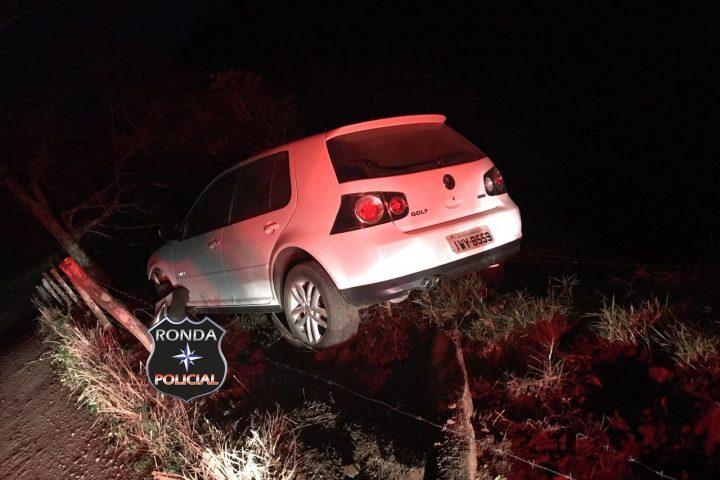 PM recupera veículos tomados de assalto de empresário de Xaxim