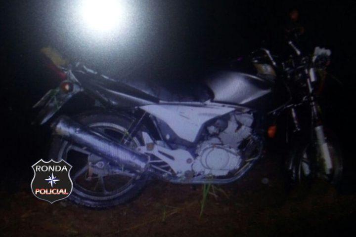 Motociclista de Chapecó fica ferido ao sofrer queda na SC-160
