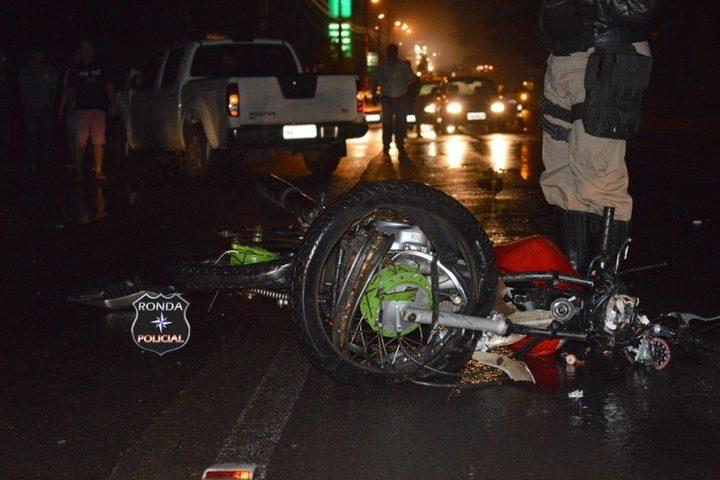 Motociclista morre depois de grave acidente na SC-283