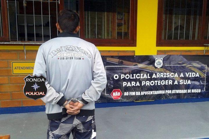 Assaltante foragido da Pach é preso pela PRF na 282