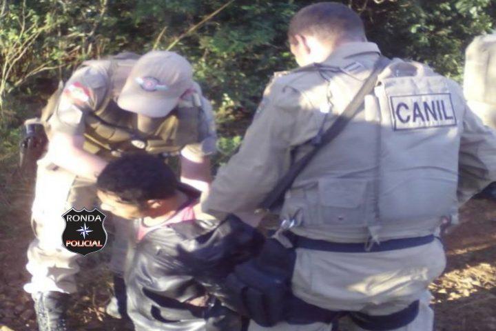 Estuprador foragido do Presídio de Xanxerê é capturado pela PM