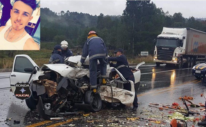 Jovem xanxerense morre em grave acidente no Paraná